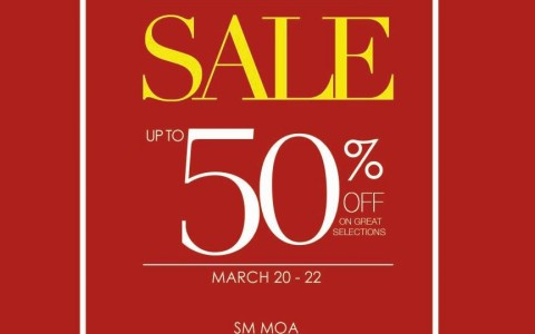 Shoes & Bags Sale @ SM MOA Music Hall March 2015
