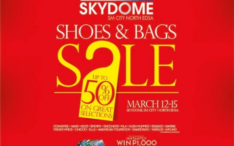 Shoes & Bags Sale @ Skydome SM City North Edsa March 2015