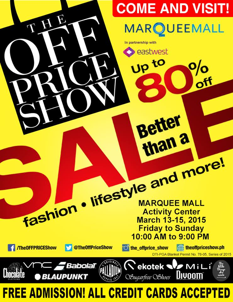 The Off Price Show @ Marquee Mall March 2015