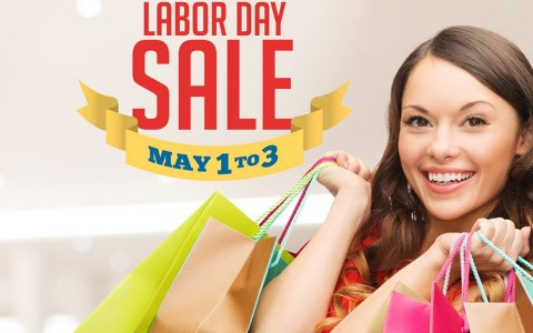 Araneta Center Labor Day Sale May 2015