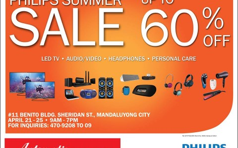 Automatic Centre Philips Summer Sale @ Benito Building April 2015