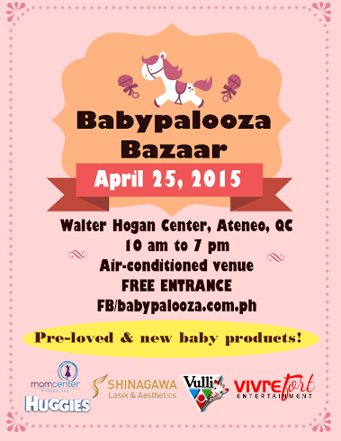 Babypalooza Bazaar @ Ateneo De Manila University April 2015