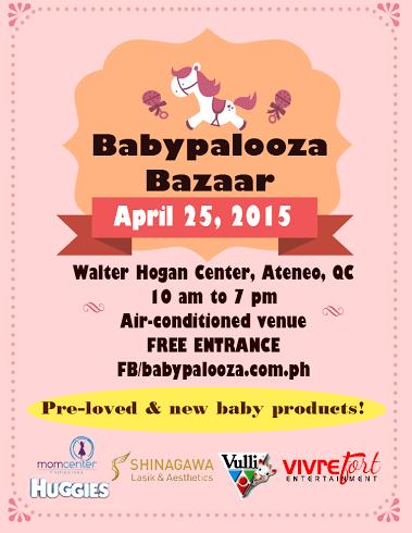 Babypalooza Bazaar @ Ateneo De Manila University April 2015