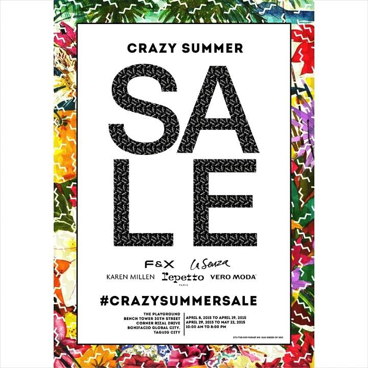 Crazy Summer Sale @ Bench Tower BGC April 2015
