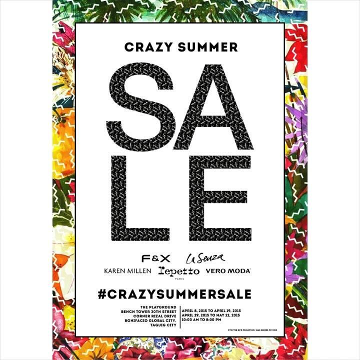 Crazy Summer Sale @ Bench Tower BGC April 2015