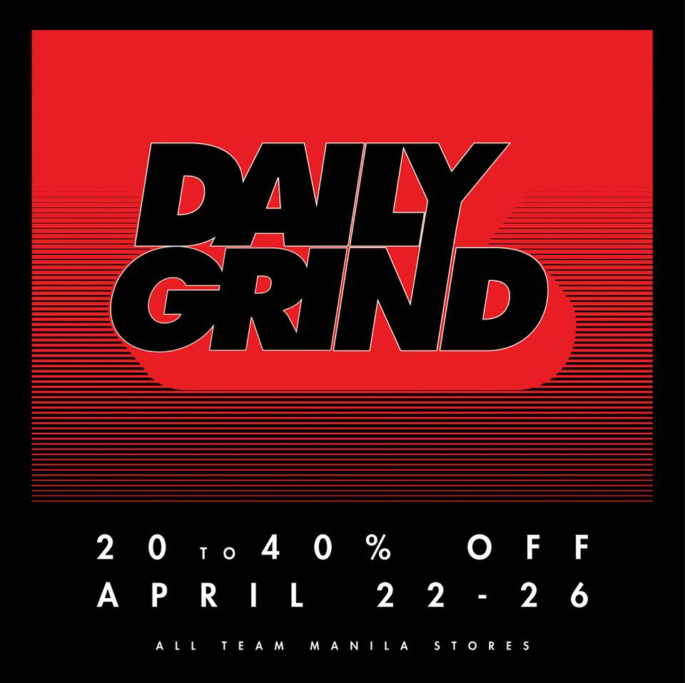 Daily Grind Sale April 2015
