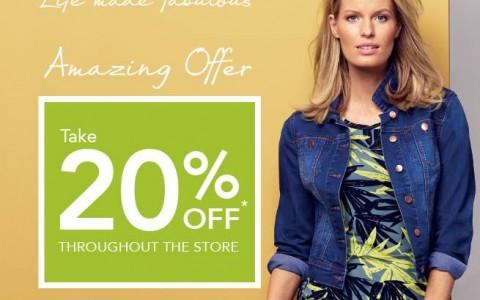 Debenhams Amazing Offer Sale April 2015