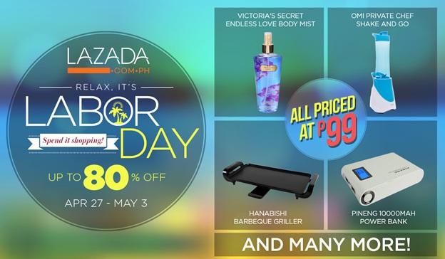 Lazada Labor Day Flash Sale April - May 2015