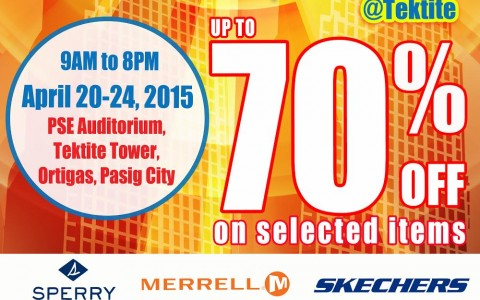 Markdown Madness Sale @ Tektite Tower April 2015