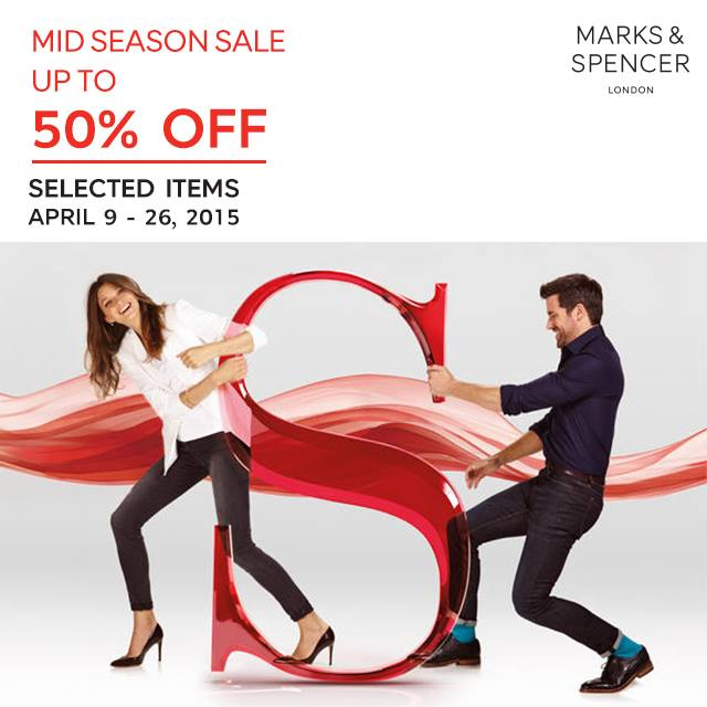 Marks & Spencer Mid-Season Sale April 2015