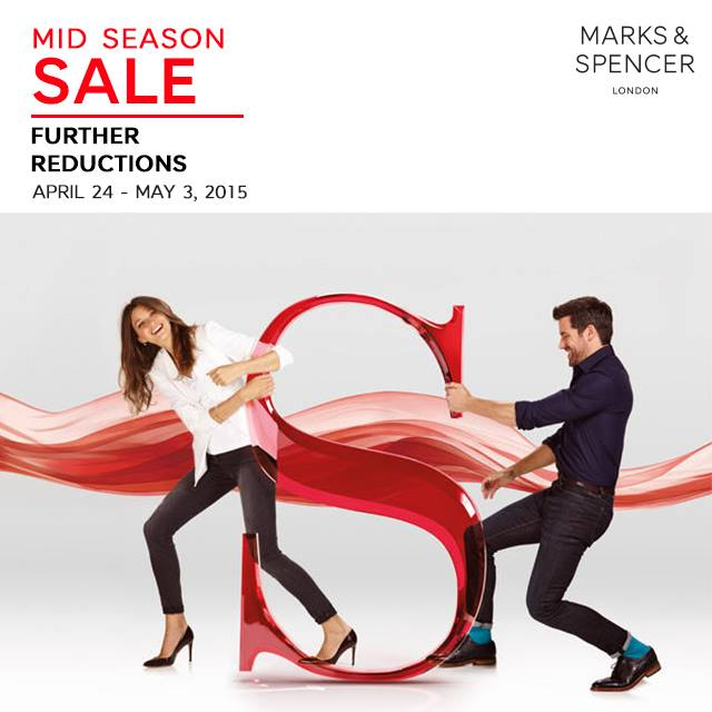 Marks & Spencer Mid-Season Sale April - May 2015