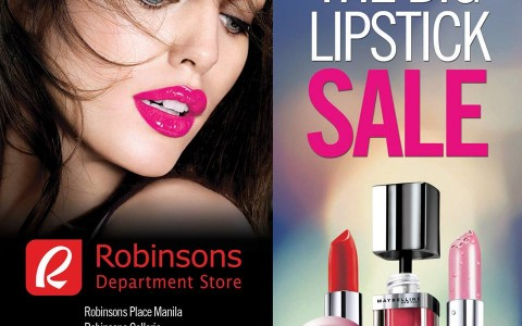 Maybelline The Big Lipstick Sale April 2015