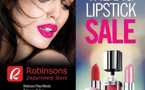 Maybelline The Big Lipstick Sale April 2015