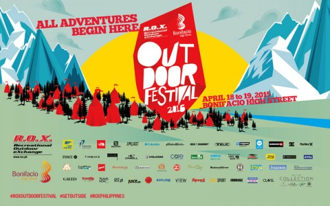R.O.X. Outdoor Festival 2015 @ Bonifacio High Street April 2015
