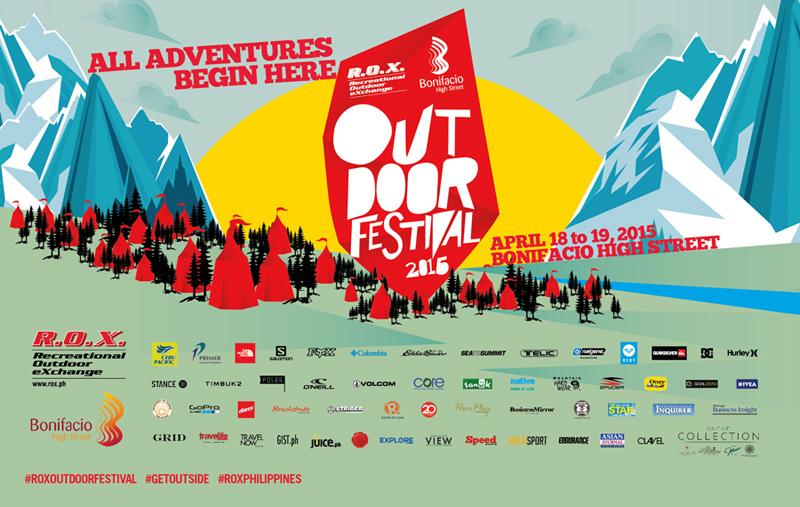 R.O.X. Outdoor Festival 2015 @ Bonifacio High Street April 2015