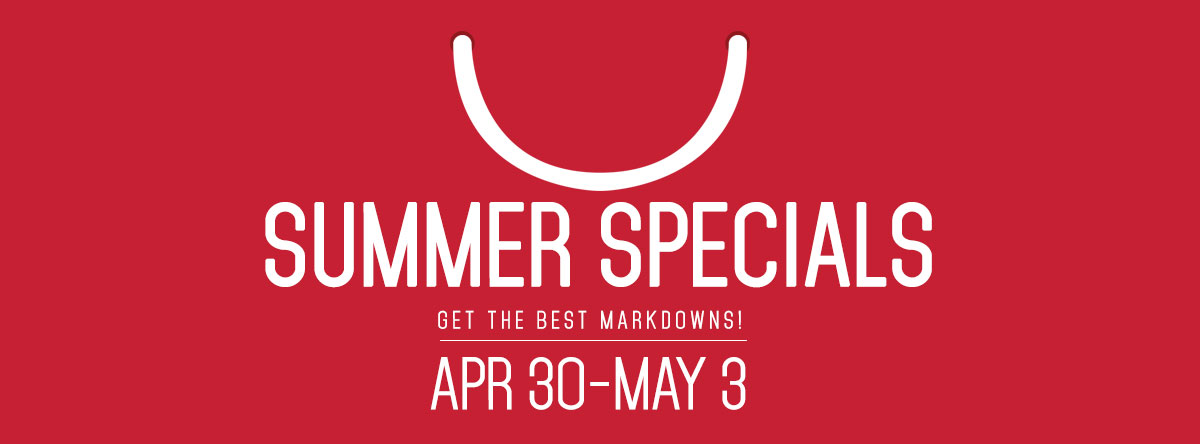 SM City North Edsa Summer Specials Sale April - May 2015