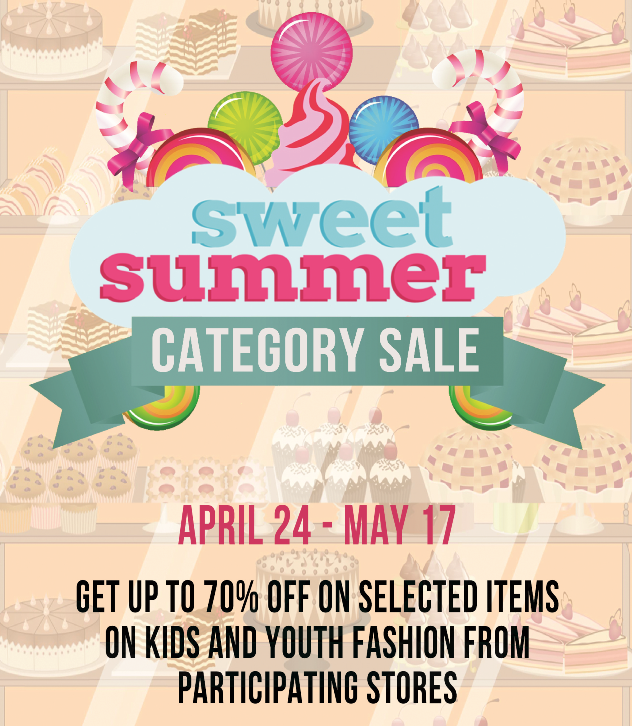 Shangri-La Plaza Mall Sweet Category Sale April - May 2015