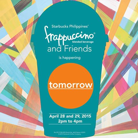 Starbucks Frappuccino and Friends Promo April 2015