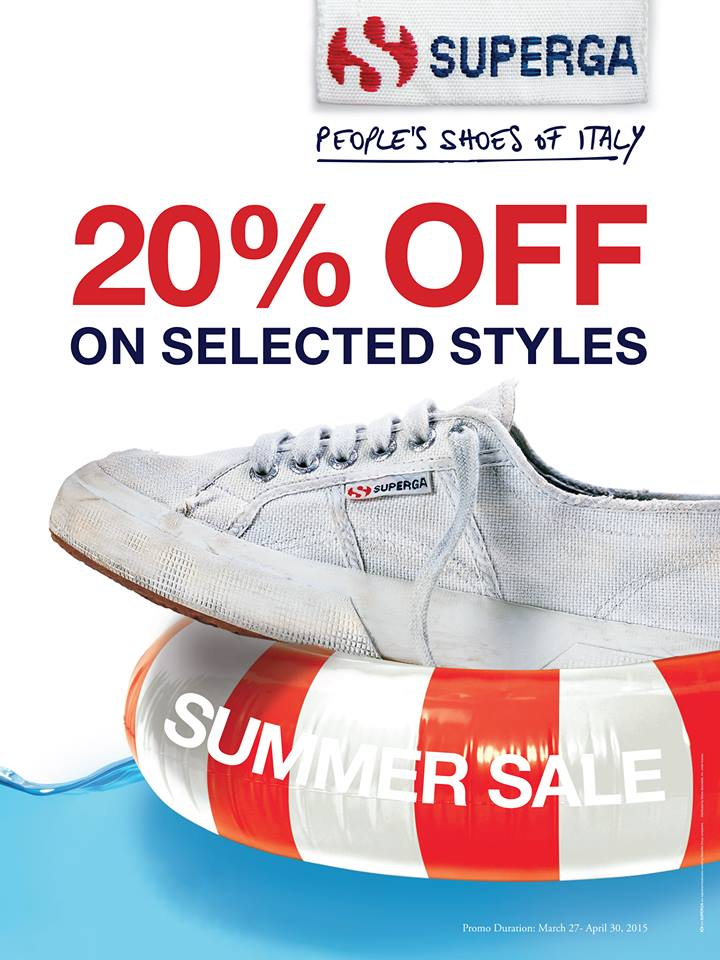 Superga Summer Sale March - April 2015