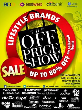 The OFF Price Show @ The Rockwell Tent April 2015