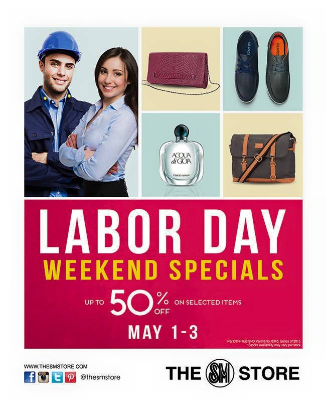 The SM Store Labor Day Weekend Sale May 2015