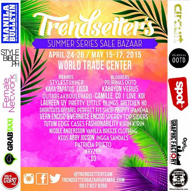 Trendsetters Summer Series Sale Bazaar @ World Trade Center April 2015