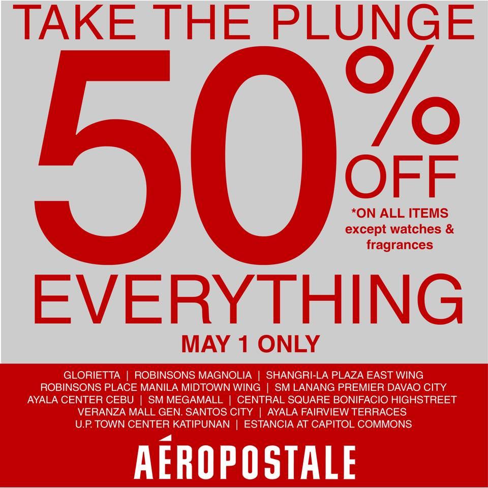 Aeropostale Labor Day Sale May 2015