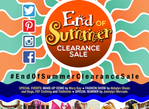 End of Summer Clearance Sale @ World Trade Center May 2015