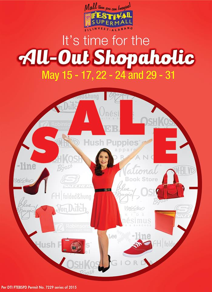 Festival Supermall All Out Shopaholic Sale May 2015