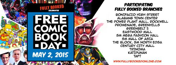 Fully Booked FCBD Participating Stores