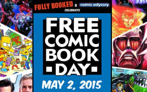 Fully Booked & Comic Odyssey Free Comic Book Day May 2015
