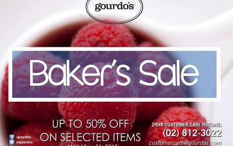 Gourdo's Baker's Sale May 2015