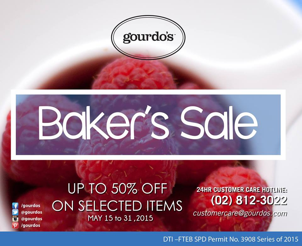 Gourdo's Baker's Sale May 2015