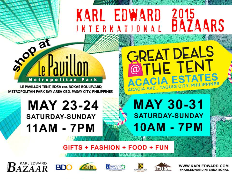 Great Deals @ The Tent May 2015
