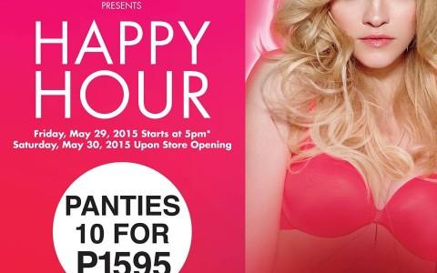 La Senza Happy Hour Sale May 2015