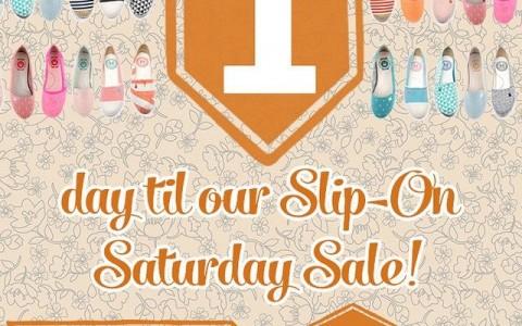 Le Bunny Bleu Slip-On Saturday Sale May 2015