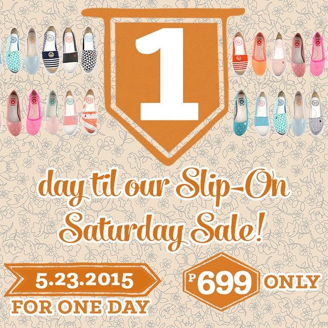 Le Bunny Bleu Slip-On Saturday Sale May 2015