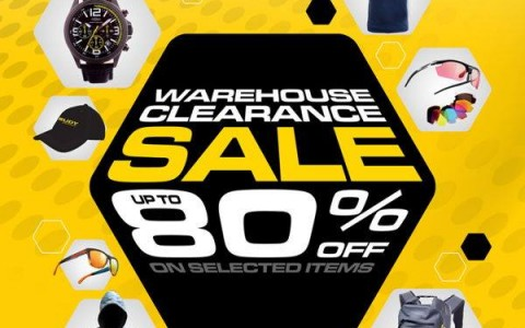 Rudy Project Warehouse Clearance Sale @ Tektite Auditorium PSE Ortigas May 2015