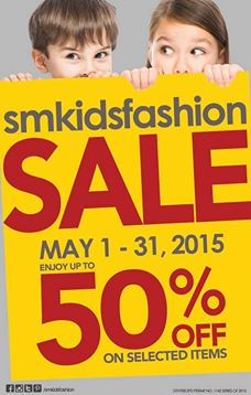 SM Kids Fashion Sale May 2015