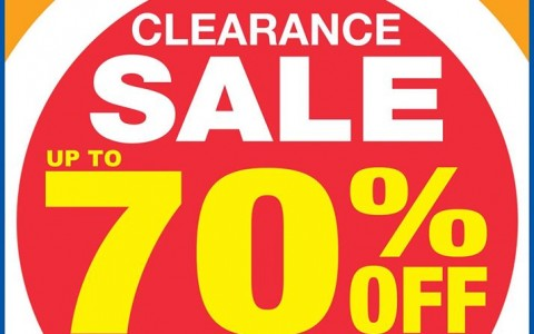 Shopwise Clearance Sale May 2015