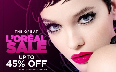 The Great L'Oreal Sale May 2015