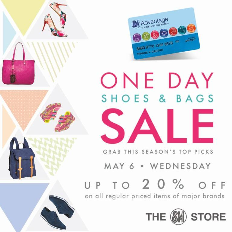 The SM Store Shoes & Bags Sale May 2015