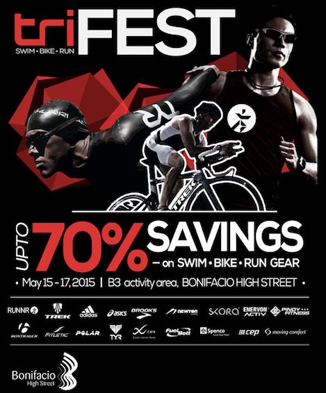 Tri-Fest 2015 @ Bonifacio High Street May 2015