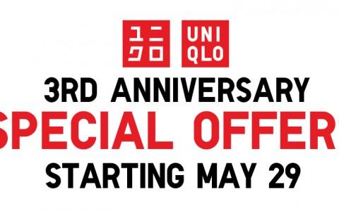 Uniqlo Anniversary Sale May - June 2015