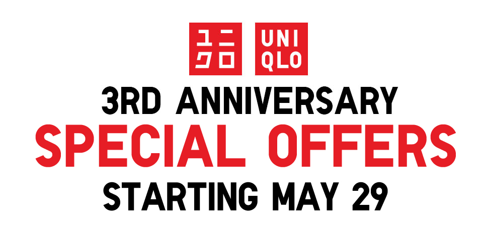 Uniqlo Anniversary Sale May - June 2015