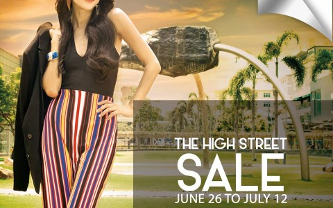 Bonifacio High Street Sale June - July 2015