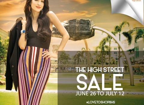 Bonifacio High Street Sale June - July 2015
