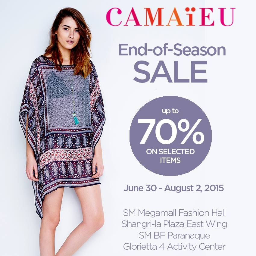 Camaïeu Philippines Sale 2015 POster