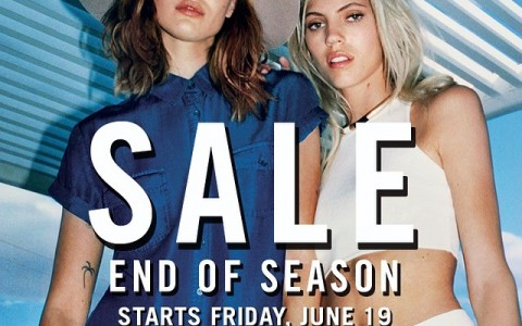 Forever 21 End of Season Sale June 2015