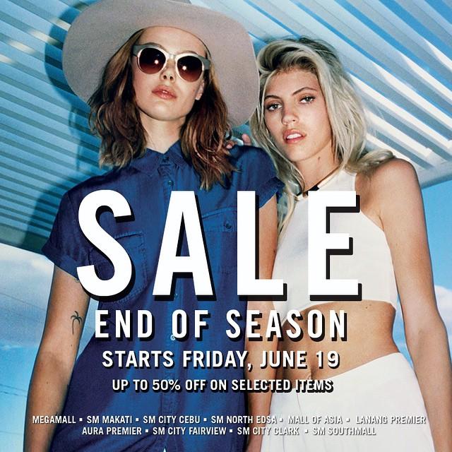 Forever 21 End of Season Sale June 2015